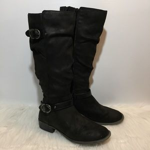 Sonoma Knee High Slouch Boots | Size 8